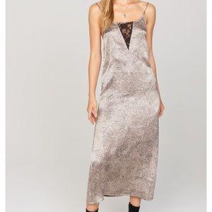 Silk style  slip dress..